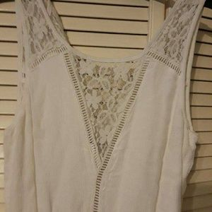 Abercrombie & Fitch Pants - White Abercrombie High Waisted Romper